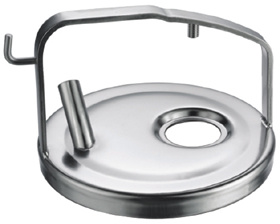 Stainless Steel Milk Bucket Cover pictures & photos