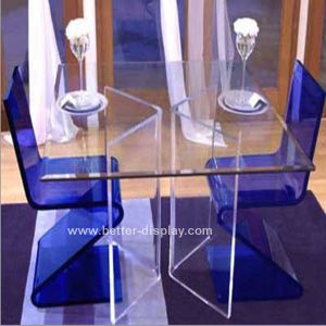 Acrylic Organic Glass Dining Table Btr-Q1001 pictures & photos