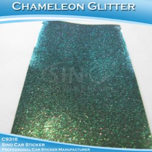 Glitter Diamond Chameleon Adhesive Film Car Wrapping