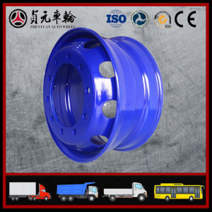 Tubeless Trailer Truck Steel Wheel Rim (22.5 X 9.00 22.5X8.25) pictures & photos
