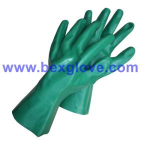 27cm, 30cm Length Blue Nitrile Glove pictures & photos