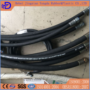 1 1/2 Inch High Pressure Flexible Hydraulic Rubber Hose pictures & photos