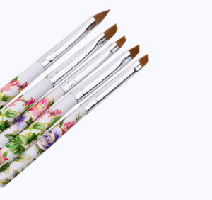 Hot Sale UV Gel Salon Nail Brushes Set pictures & photos