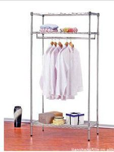 New Style 3-Tier Carbon Steel Clothes Rack