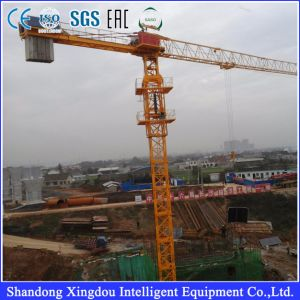 Mini Tower Crane Lifting Capacity Qtz80 pictures & photos