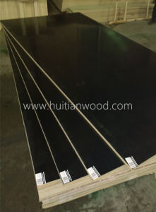 AAA Grade 17mm Black Film Faced Plywood for Construction with Ce Certificate pictures & photos