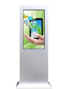 White Outdoor LCD Advertising Digital Display with 3G WiFi Network pictures & photos