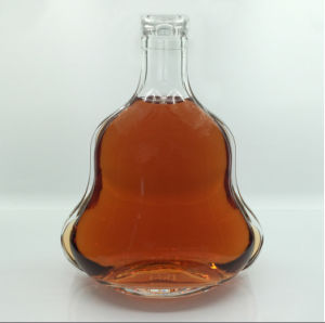 700ml Empty Brandy Bottle with Aluminum Cap Glass Decanter pictures & photos