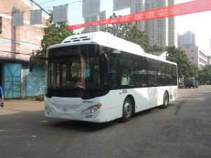 Huazhong Wh6101gng CNG Gas City Bus pictures & photos