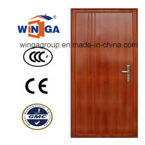 Building Project Water Proof and Sunproof Security Steel Door (W-S-12) pictures & photos