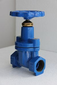 Screwed Ends Resilient Gate Valve, Straight F/F pictures & photos
