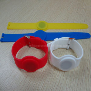 Waterproof Bars Smart RFID Silicone Wristband pictures & photos
