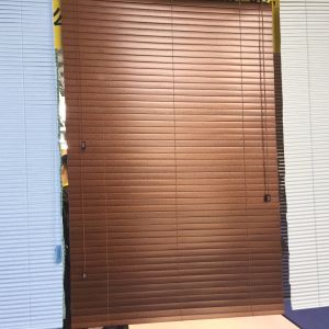 Paulownia Slats with Paster for Wooden Venetian Blinds pictures & photos