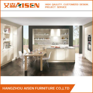 Modular Vinyl Home Furniture Kitchen Cupboards of High Quality Standard pictures & photos