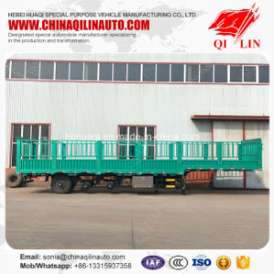 China Manufacture High Quality Heavy Duty Fence Cargo Trailer pictures & photos