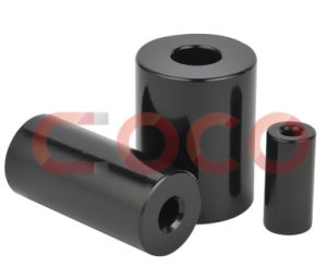 Permanent-Magnet Micromotor Black Epoxy Powder Coating