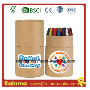 24PCS Crayon in Paper Tube for Stationery Gift pictures & photos
