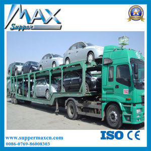 3axles Cheap Car Trailer, Car Carrier Trailer in China pictures & photos