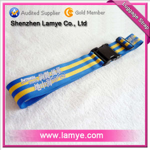 Polyester Luggage Strap With Silk Screen Printing (LAM-LA-101)