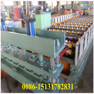 High Quality Color Steel Tile Cold Roll Forming Machine pictures & photos