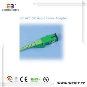 Sc APC Sx Avoid Laser Adapter; Laser Collimator /Sc Duplex Fiber Optical Adapter pictures & photos