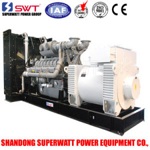 1375kVA 11kv Hv High Voltage Diesel Generator Power Station Power Plant by Mtu