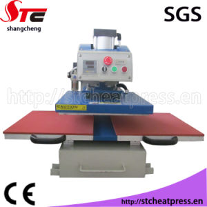 China cheap double stations laser printing machine for t for Laser printing machine for t shirts