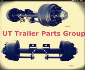 American Type 127 Square Axle Beam 13t Trailer Axle pictures & photos