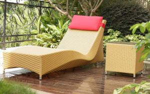 Rattan Outdoor Leisure Lounge and Tea Table (BZ-C049)