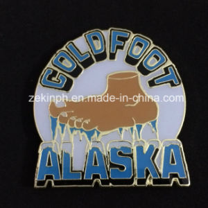 Custom Soft Enamel Badge with Magnet Back pictures & photos