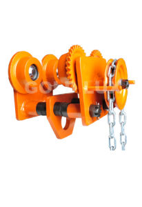 The Hand Pully Trolley with The Chain Hoist Gcl-P 1t-10t pictures & photos