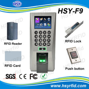 Fingerprint Access Control System and Time Attendace with Free Software