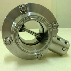 "1/2"" Stainless Steel Triclover Sanitary 3A Butterfly Valves pictures & photos"