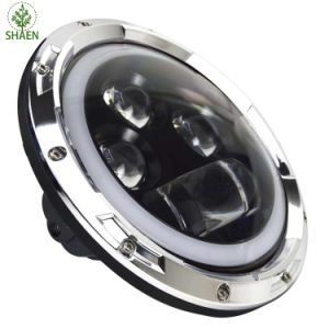 H/L IP67 LED Car Light for Jeep 60W 7 Inch 6500K-7000K pictures & photos