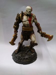 Boneco Kratos God of War De Resina Figurine 21cm pictures & photos