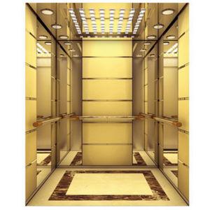 China passenger elevator with luxury decoration cabin for Luxury elevator