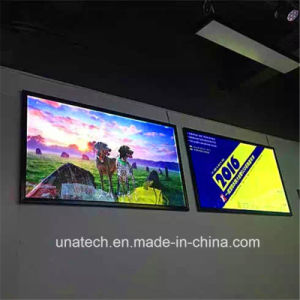 Wall Mounted LED Banner Ads Aluminium Frame Light Box pictures & photos