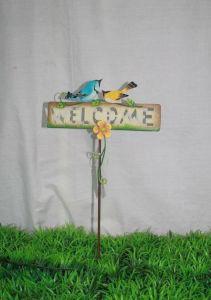 Metal Bird Welcome Stake (JW10042)