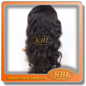 Convenient Use of 5A Brazilian Front Lace Wig Loose Wave pictures & photos