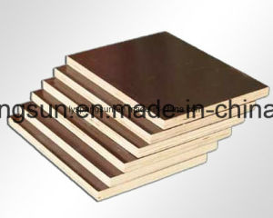 12mm Good Quality Film Faced Shuttering Plywood pictures & photos