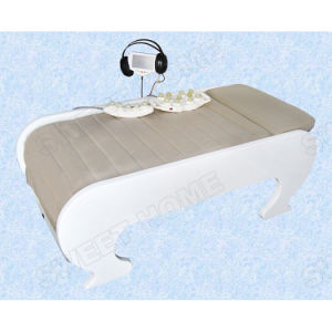 Retractable Thermal Music V3 Jade Massage Table pictures & photos