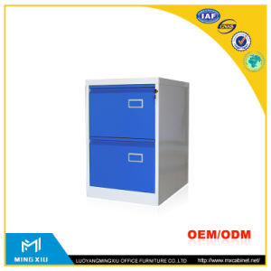 China Mingxiu Steel Office Furniture 2 Drawer Metal File Cabinet / 2 Drawer File Cabinet pictures & photos