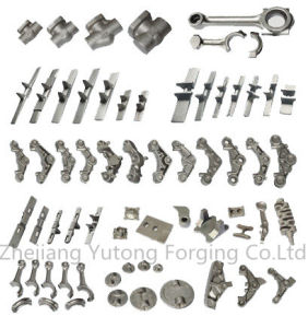 Ts-16949 Proved Steel Forging Customied Machinery Parts Forging Part for Rails-Part 2 pictures & photos