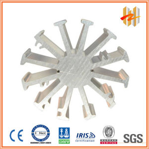 High Precision Aluminum Extrusion Profiles for Heat Sink (ZW-HS-003)