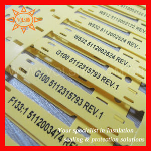 Printable Plastic Labels for Wire&Cable pictures & photos