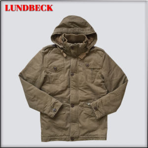 New Arrived Fashion Jacket for Men Cotton Winter Coat pictures & photos