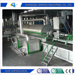 Jinpeng New Technology 30 Tons Continuous Rubber Tire Recycling Machine pictures & photos