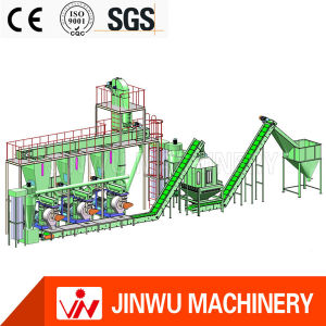 Manufacturing Forestry Vertical Ring Die Pellet Machine Line