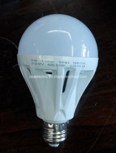 Energy Saving 9W LED Plastic Bulb Housing pictures & photos