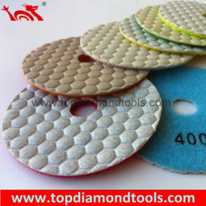 Dry Flexible Diamond Polishing Pads for Polishing Granite pictures & photos